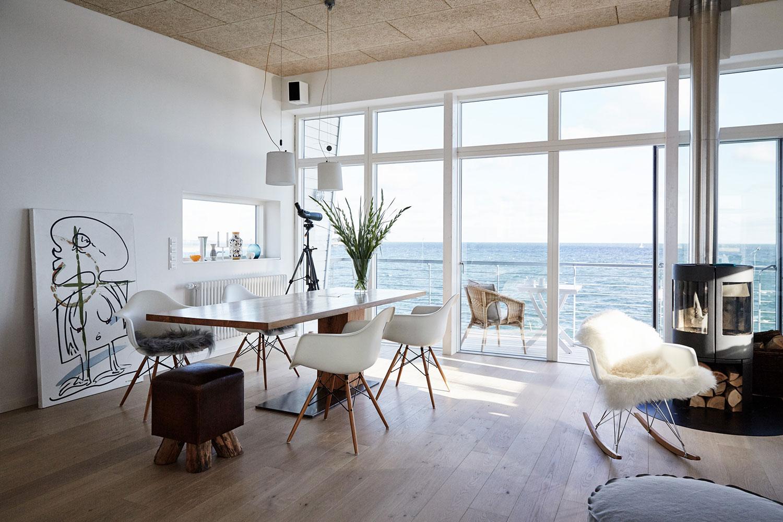 Haus auf der Ostsee